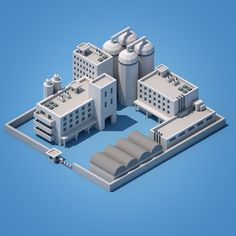 Low-poly Factory
