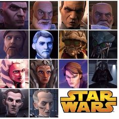 Star Wars The Clone Wars to Star Wars Rebels. How are favorite characters have aged.