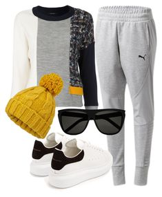 """""""Wicked Chill"""" by fashionforwarded ❤ liked on Polyvore featuring Loveless, Alexander McQueen and Miss Selfridge"""