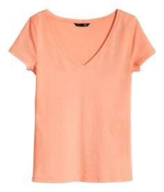 hm jersey basic orange - Google Search