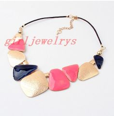 Istruzione collana collana di cristallo collana di di girljewelrys, $9.99
