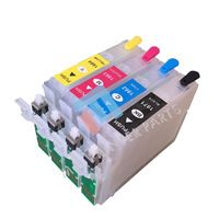Refillable Ink Cartridge kit For EPSON XP214 XP101 XP211 WF-2532 196 197