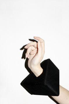 large black cuff (this image makes fabulous #art)