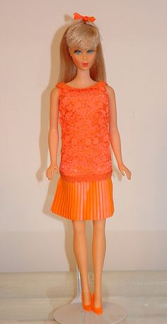 Mod Barbie 1967 Disco Dater #1807 Barbie Life, Barbie Dream, Barbie World, Vintage Barbie Clothes, Doll Clothes, Mod Fashion, Fashion Dolls, Doll Wardrobe, Barbie Patterns