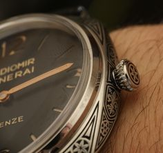 Panerai Radiomir Firenze 3 Days Acciaio PAM604 Limited Edition Engraved Watch Hands-On