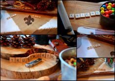 The Headleys House: Eagle Scout Court of Honor Spell out the Scout Law with scrabble tiles.