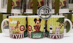 Canecas Personalizadas Mickey Safari