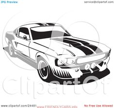 cool ford mustang logo vector car images hd Muscle Car Vector    Classic Cars     Muscle Cars Gallery