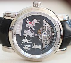 Ulysse Nardin Minute Repeater Tourbillon Jaquemarts Watch