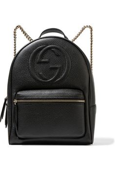 Gucci | Soho textured-leather backpack | NET-A-PORTER.COM