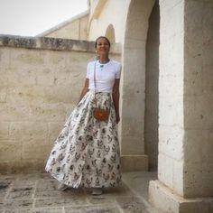 Who better than her could rock the #rooster #cencio #skirt #ateliermartaferri ❤️ you @mmmargherita 👊🐔👊@bottegaegnazia #martaferri