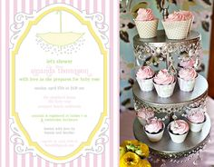 april showers baby shower idea via kara's party ideas