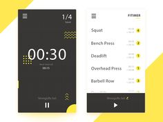 Hi guys, An exploration on a simple app timing for HIIT Training and Workouts. I hope you will like it! Feedback and like are really appreciated :)
