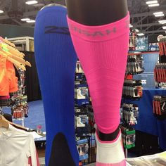 Compression socks and sleeves. Love leaving these on even after then run!