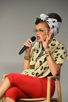 Andra Day Photos Photos - Singer Andra Day talks before performing at the Apple…
