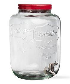 Vintage Jar Drink Dispenser #zulily #zulilyfinds