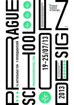 Identity for summer school of design in Prague http://www.praguedesignschool.cz/