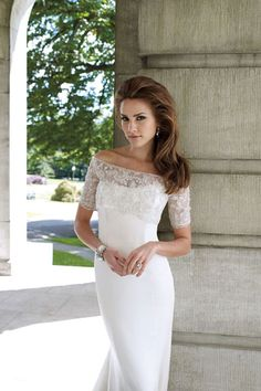 In a different colr would make a beautiful mother of the bride dress