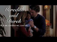 meredith and derek    pick me, choose me, love me - YouTube