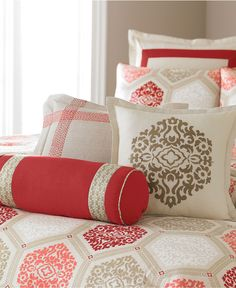 Martha Stewart Collection Bedding, Sultana 6 Piece Duvet Cover Sets