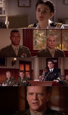 """Amazing movie - all played a great part.  Check out some of the """"less known actors at the time!""""  - Look at where they are now! A Few Good Men, 1992 (dir.Rob Reiner)"""