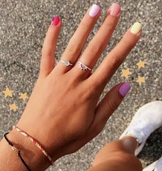 In seek out some nail designs and ideas for your nails? Listed here is our listing of must-try coffin acrylic nails for modern women. Aycrlic Nails, Cute Nails, Pretty Nails, Hair And Nails, Coffin Nails, Cute Simple Nails, Cute Nail Colors, Coffin Acrylics, Ring Armband