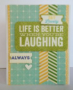 From Scrapbook and Cards Today Blog Aug 19, 2013.  Neat idea for a filler card
