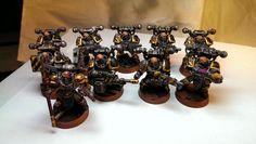 Bionics, Chaos Space Marines, Iron Warriors