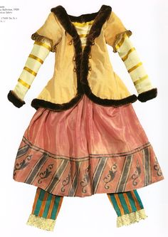 Ballet Russe Costumes.
