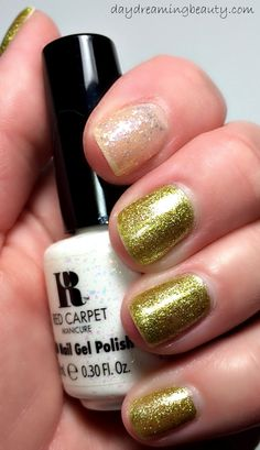Red Carpet Manicure Power of the Gem Birthstone Collection Peridot/August and Opal/October soak off gel polishes via daydreaming beauty #RCM #mani #notd
