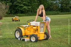 pictures Bikini lawn mower