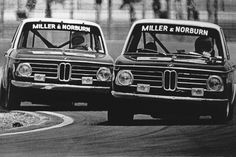 The legendary BMW 2002, racing in 1975. Photo: Getty Images, ISC Archives Via Getty Images