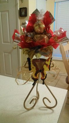 Special candy bouquet.