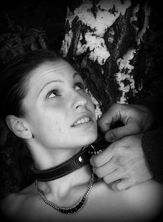 Women collar submissive my first