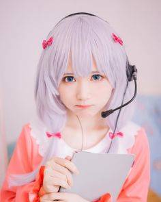 Cosplay Anime I do not own this picture. All credits belong to its rightful owner. Kawaii Cosplay, Cosplay Anime, Cute Cosplay, Amazing Cosplay, Best Cosplay, Cosplay Costumes, Vocaloid Cosplay, Asian Cosplay, Manga Kawaii