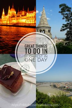 Great things to do in Budapest in one day Capital Of Hungary, Budapest Things To Do In, Danube River, Travel Around Europe, Stuff To Do, Posts, Day, Blog, Messages