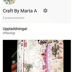 Come and join me on YouTube! That would make me super happy. 😁 I have just started this new social media channel and it is a new world for me. A lot of learning and patience. 🙈 Link in my profile. #craft #crafting #craftbymarta #madebymarta #madebyme #scrap #scrapbook #scrapbooking #paper #paperlove #paperaddict #papercraft #instaphoto #instadaily #instacraft #instascrap #mtn #tn #travelersnotebook #journaling #youtube #video #creativity #create #spring2017 #march2017