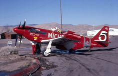 Unlimited Class North American Aviation P-51 Mustang, Red Baron.