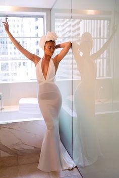 Prom Dresses, Sexy Evening Dress, Mermaid Prom Gown, Evening Gown,Ivory Formal Dress,Party Dress, Graduation Dress, Maxi Dress,
