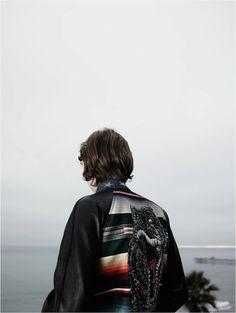 Jack Kilmer by Hedi Slimane for Saint Laurent Surf Sound 2016.