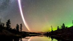 A group of aurora enthusiasts have found a new type of light in the night sky and named it Steve.