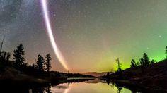 Steve, a stripe of light through the night sky
