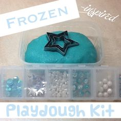 Frozen Inspired Play Dough Set
