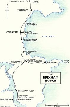 Disused Stations: Brixham Station