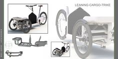 Utility Cycling Technology: Leaning Cargo Trikes