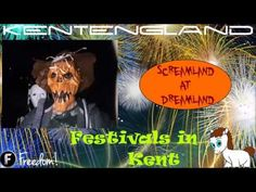 Screamland in Dreamland. I couldn't take any footage inside the mazes. Great Night, Festivals, Tourism, Places To Visit, Entertainment, English, Turismo, English Language, Concerts