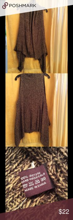 Sweater Vest This soft sweater vest is a wonderful all around vest. Great for the layered look. Sweaters