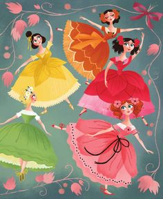 Brigette Barrager - queen illustrator