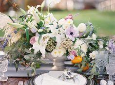 Photography: Amelia Johnson - www.amelia-johnson.com   Read More on SMP: http://www.stylemepretty.com/2016/01/28/romantic-violet-smokey-charcoal-wedding-inspiration/