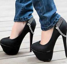 If I could walk in them, I would definitely rock these <3